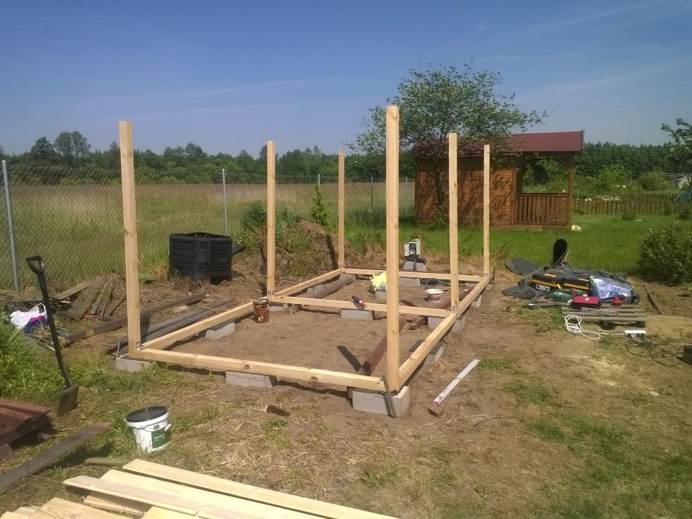 Bardzo dobra Onix arts :: Drewniany domek ogrodowy MV21